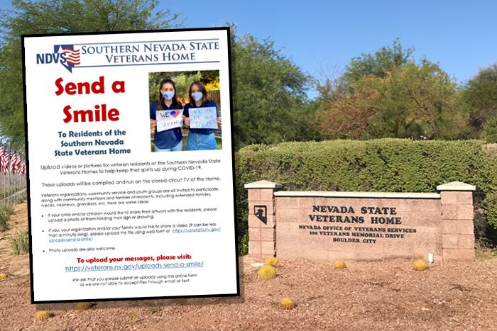 Send A Smile Veterans Home Boulder City, Nevada