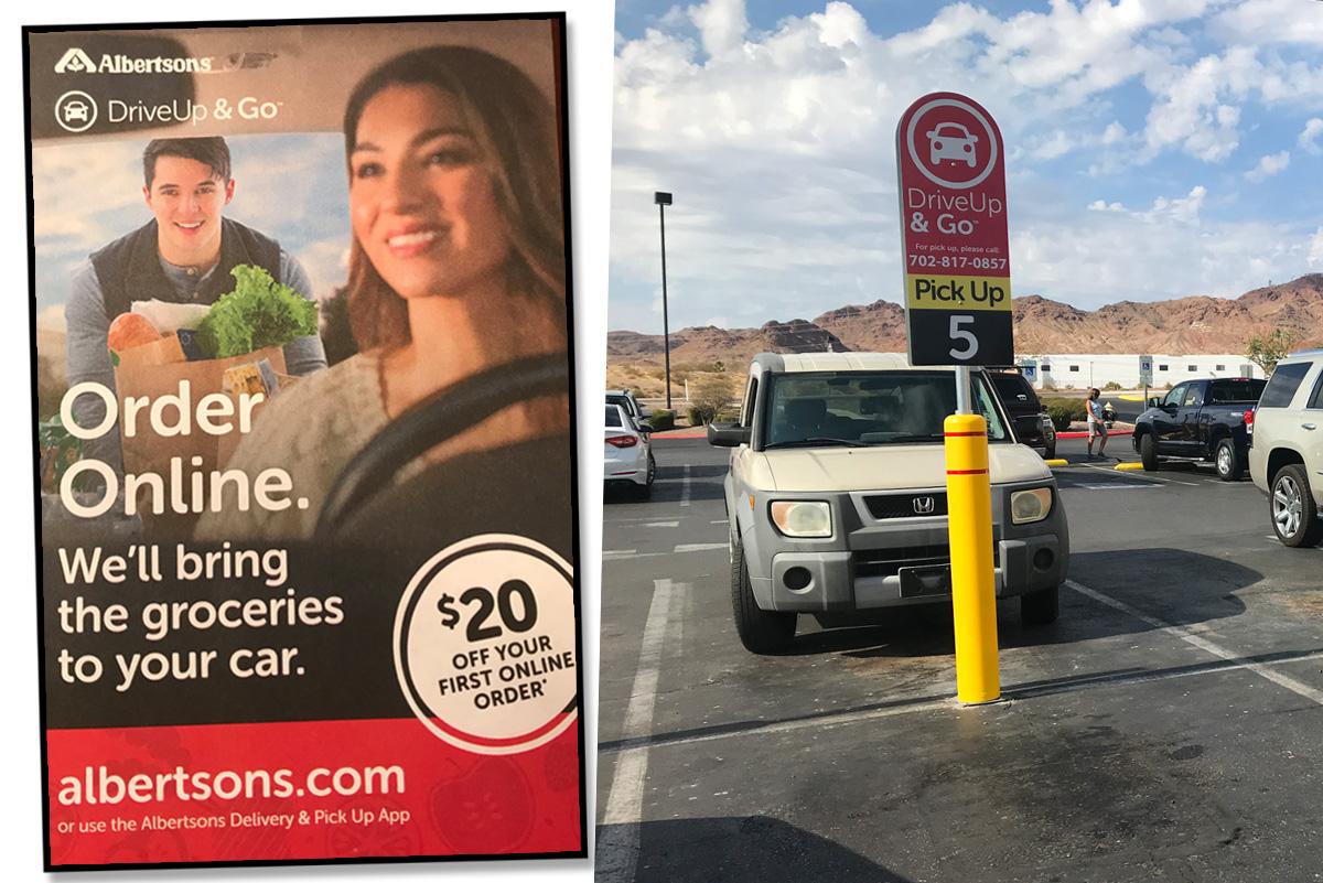 New Drive Up Albertsons Boulder City, Nevada
