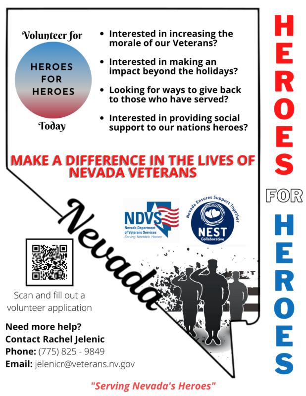 Heros Volunteer Flyer Boulder City, NV