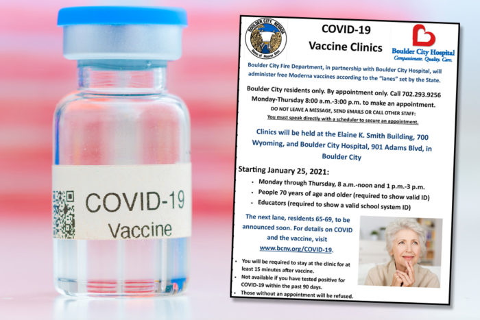 Vaccines Available Boulder City, Nevada