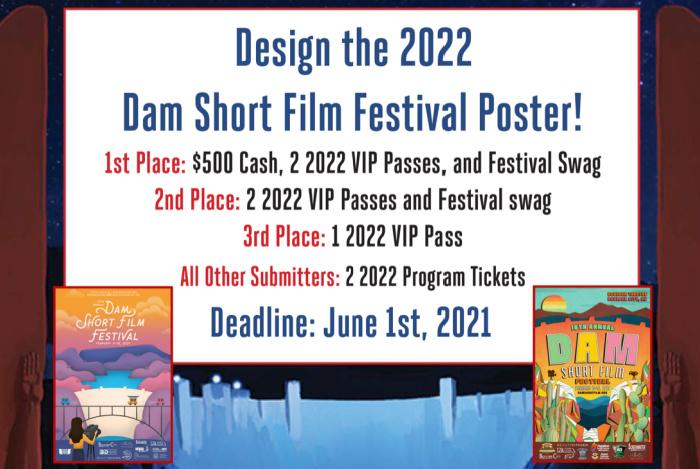 DSFF Poster Contest 2021 Boulder City, NV
