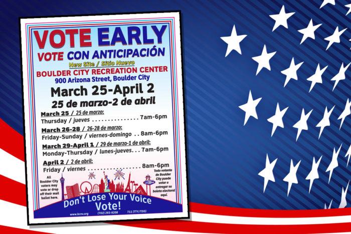 Early Voting Begins 2021 Boulder City, NV