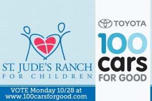 100 Cars for Good at St. Jude's Ranch in Boulder City, Nevada