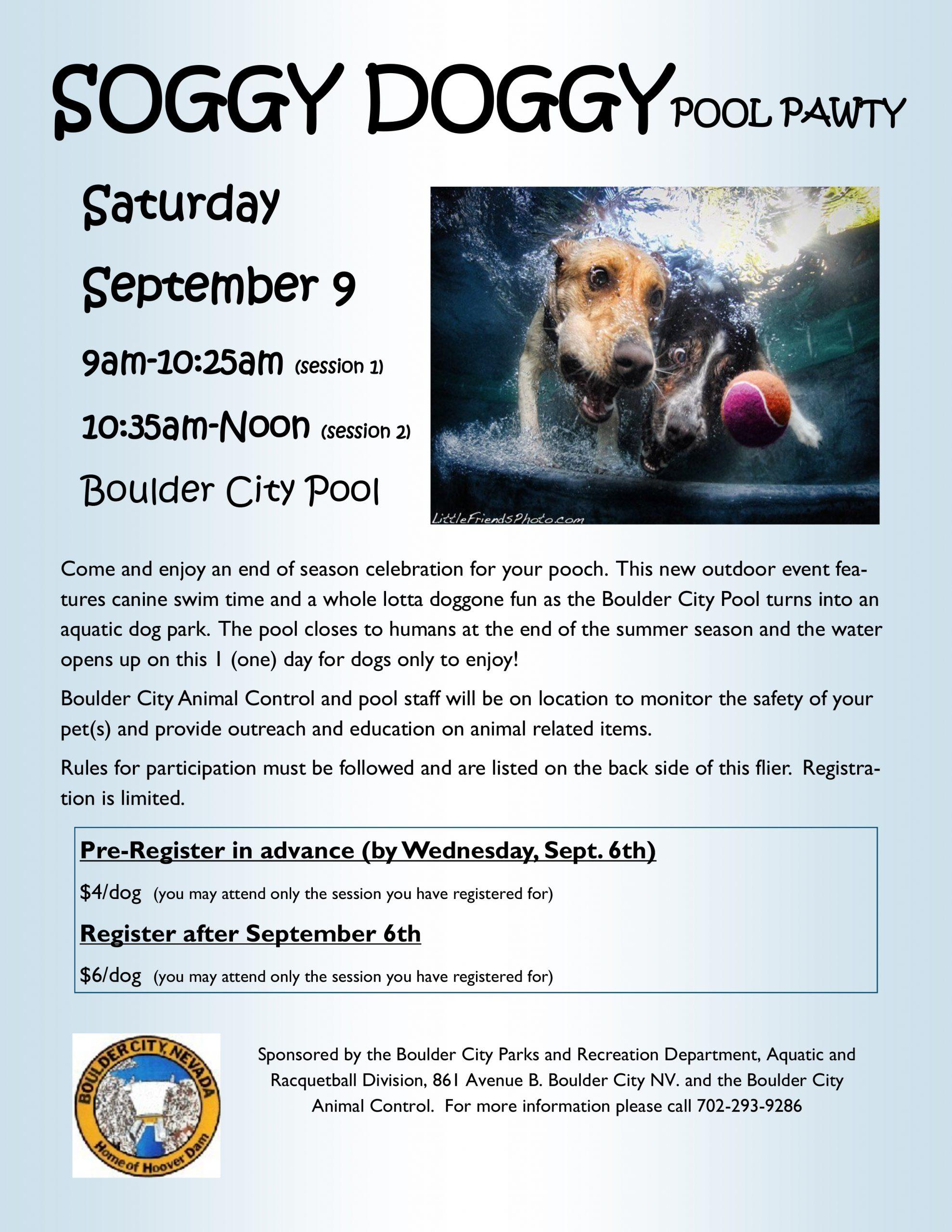 2017-Soggy Doggy Flier Boulder City, NV