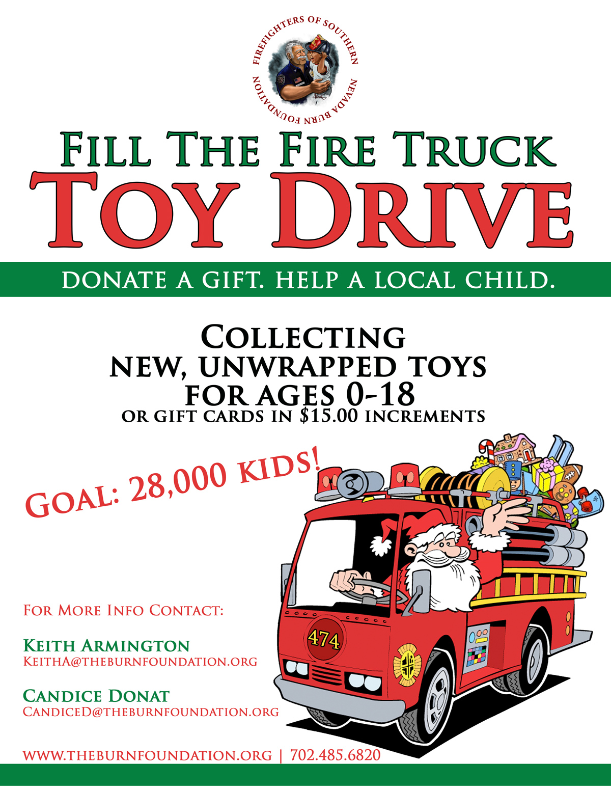 2017 Toy Drive Flyer Boulder City, NV