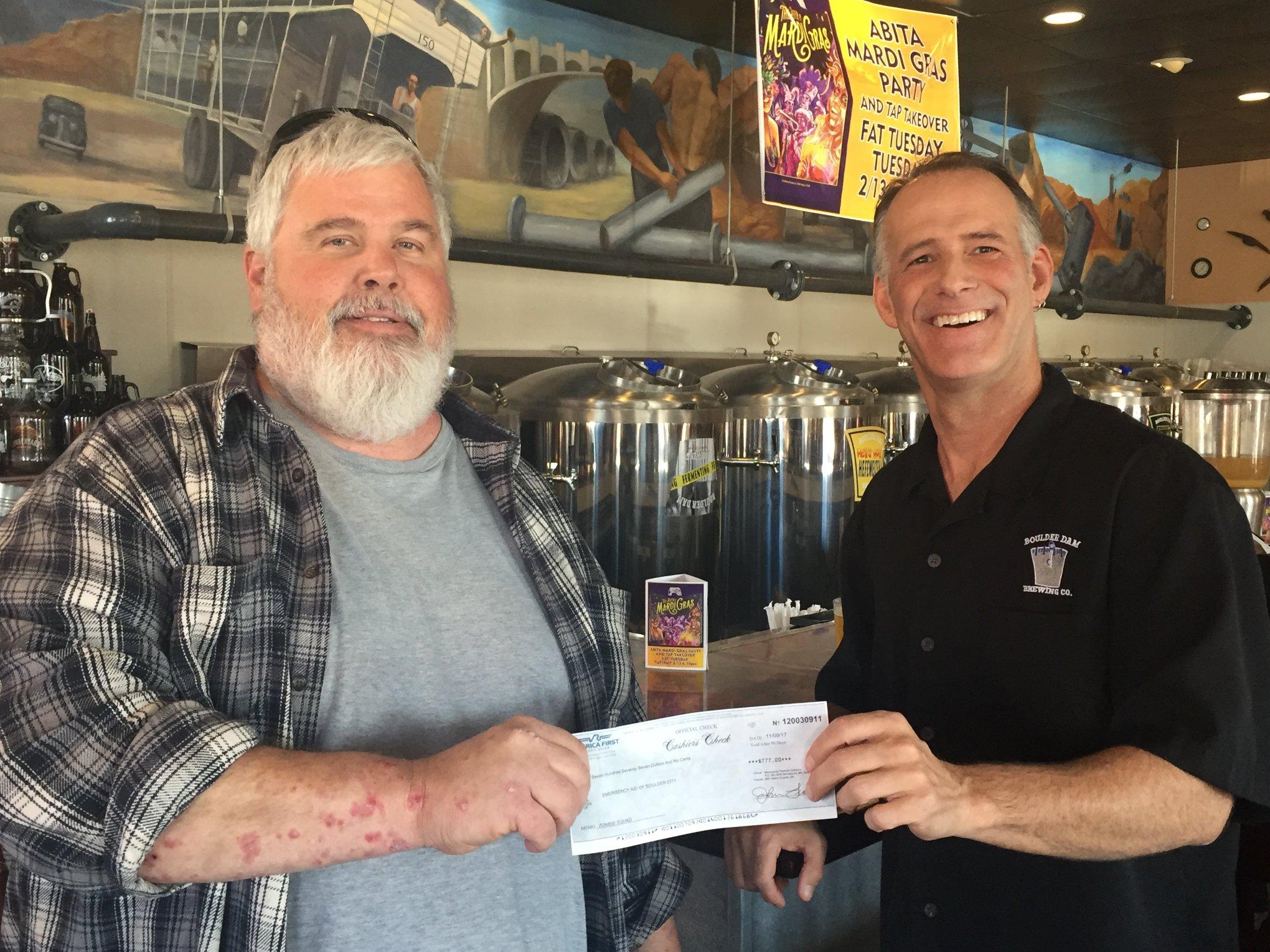 Boulder Dam Brewing Co. Awards, Boulder City, NV