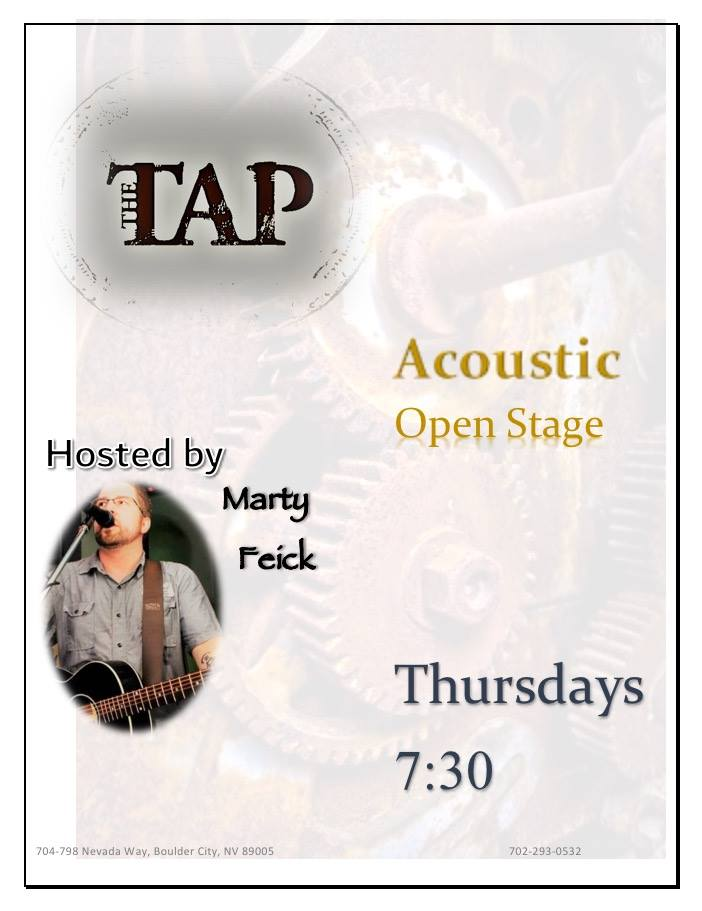 The Tap Open Stage Boulder City, Nevada