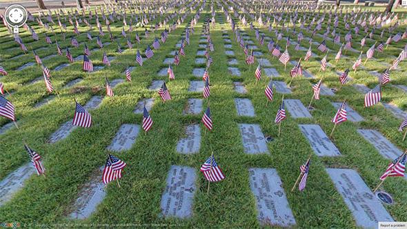 360 Tour of Veterans Memorial Cemetery in Boulder City, Nevada