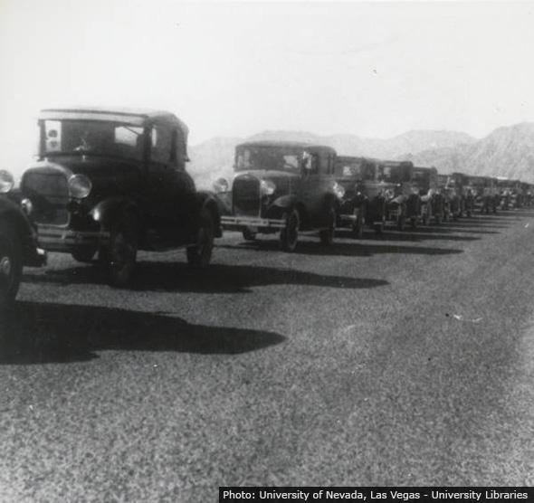 500 Car Caravan in Boulder City, NV