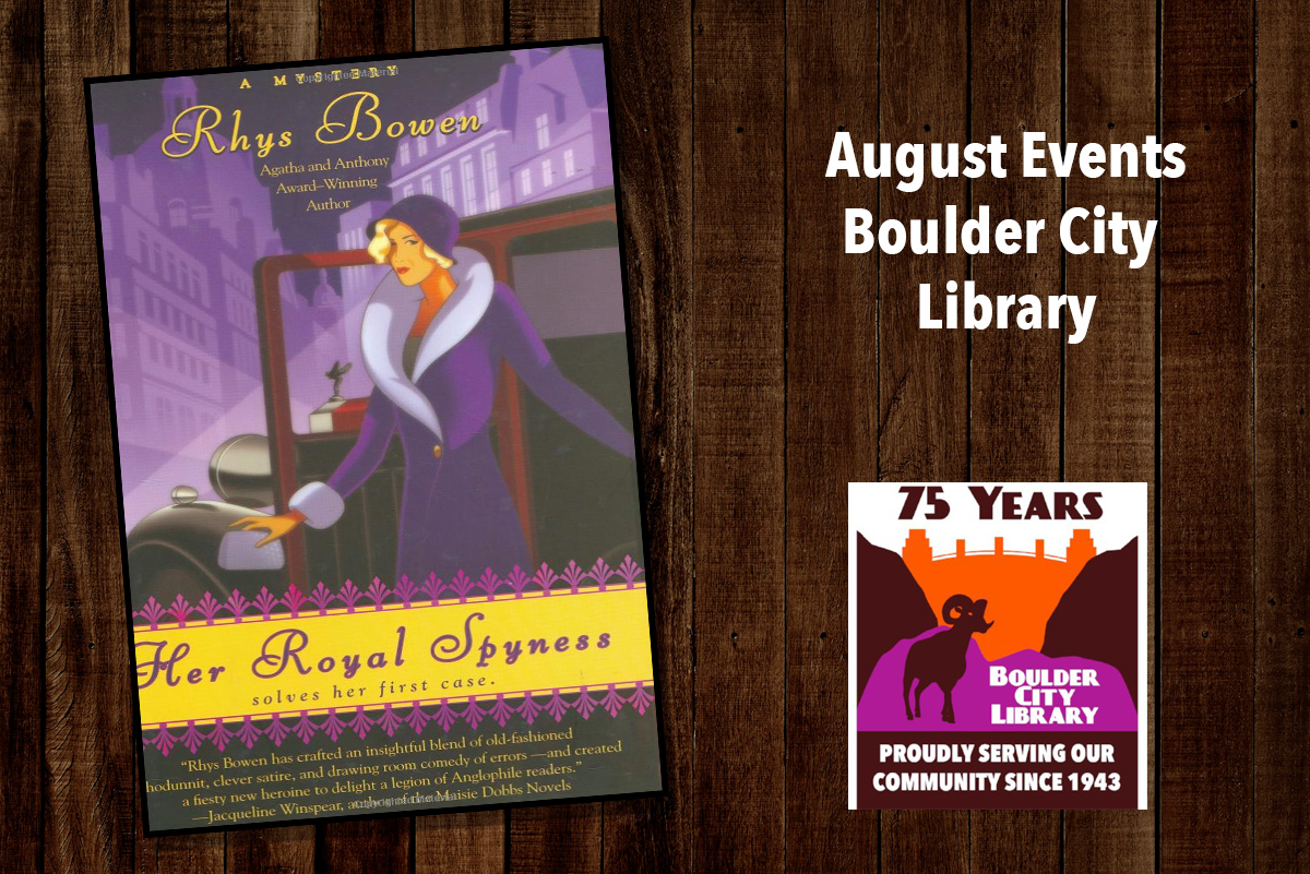 August Library Events Boulder City, Nevada