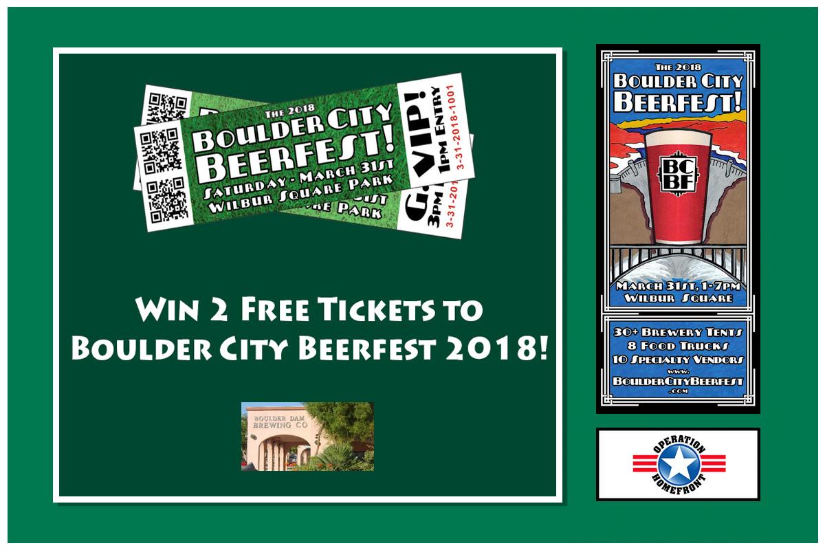 Beerfest Giveaway 2018 Boulder City, NV