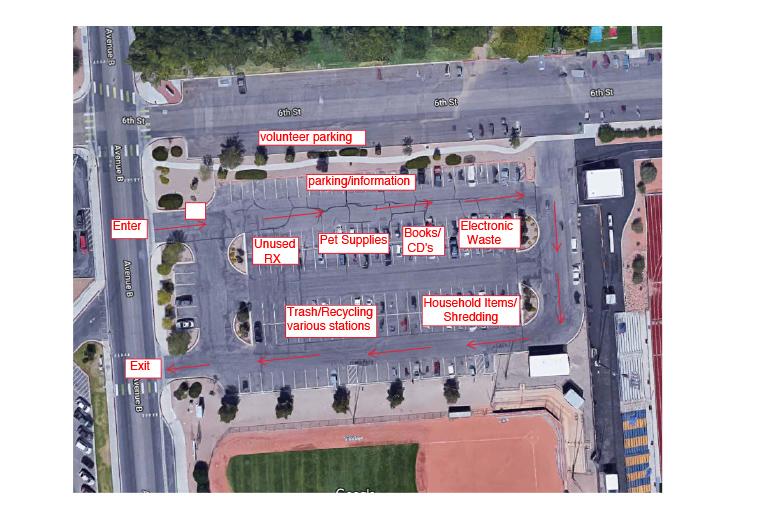 Big Clean Parking Lot Map Boulder City, NV