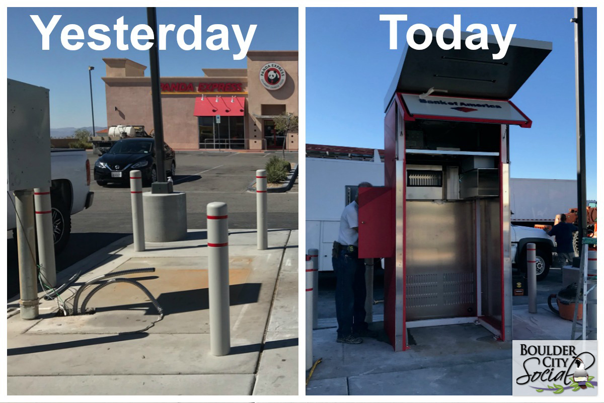 Bank of America ATM Replacement Boulder City, NV