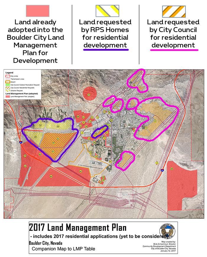 Land Management Plan 2017 for Boulder City, Nevada