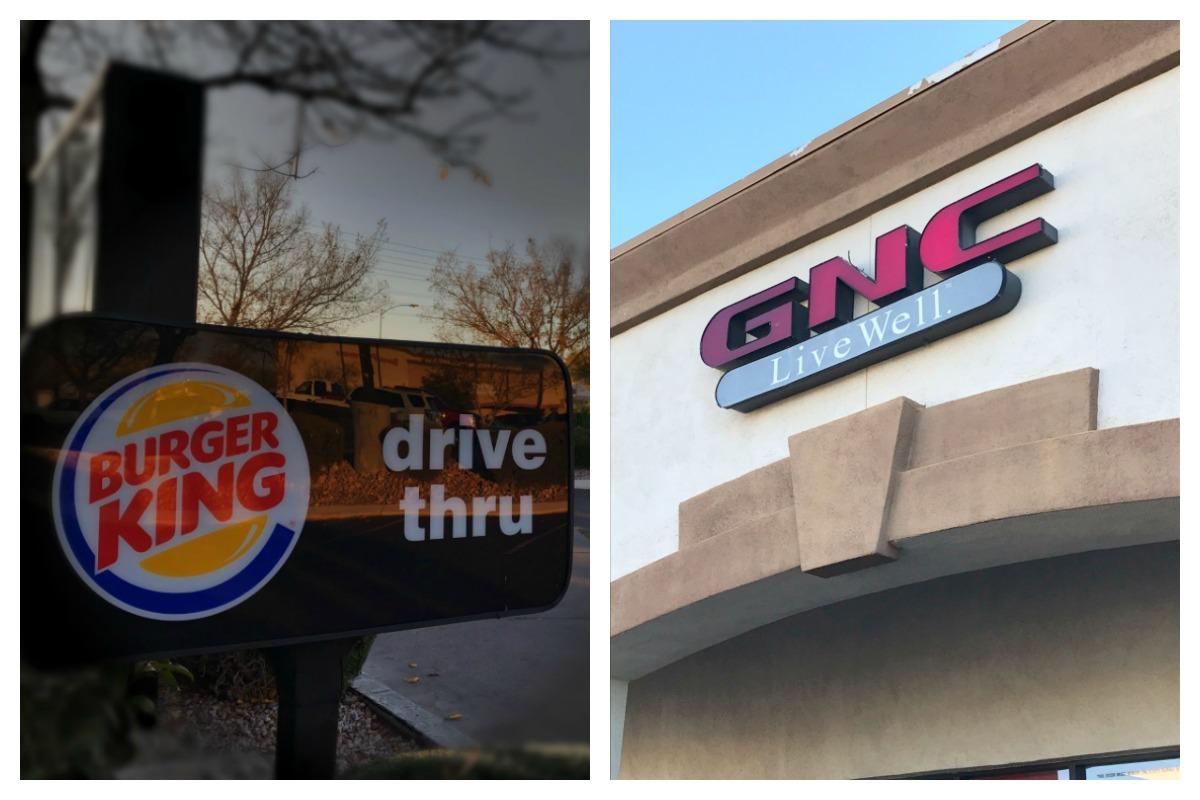 Burger King GNC Closing Boulder City, NV