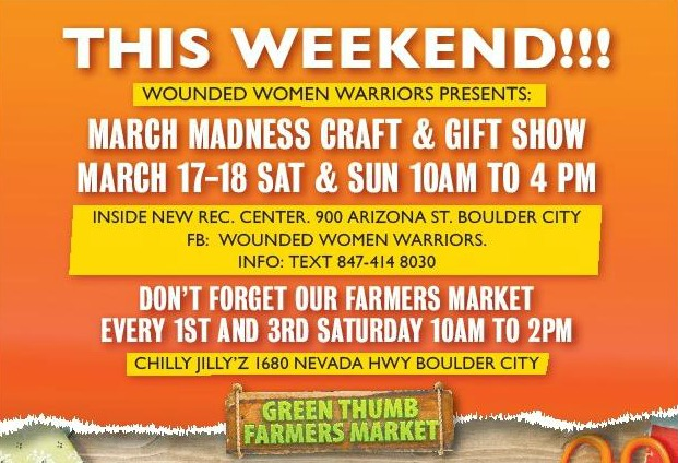 Craft & Gift Show March 2018 Boulder City, NV