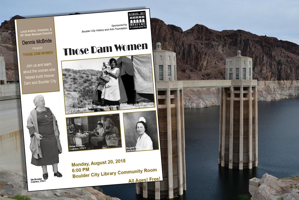 Dam Women Dennis McBride Boulder City, Nevada