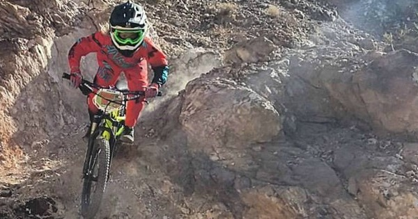 Downhill Bike Race Championships Boulder City, Nevada