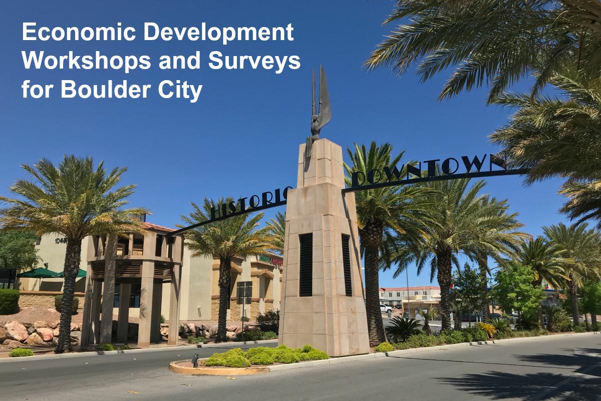 Economic Development Workshops Boulder City, NV