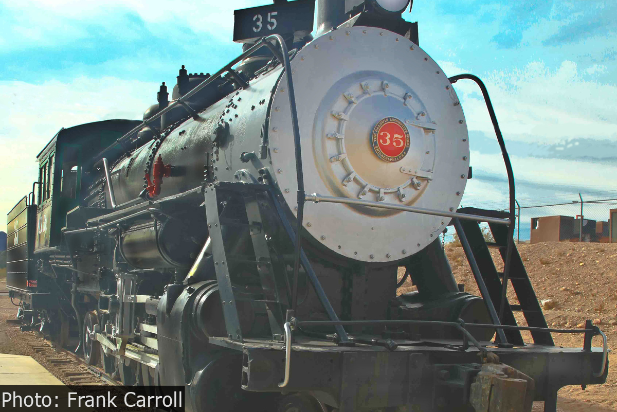 Fan Photo Frank Carroll Train Boulder City, Nevada