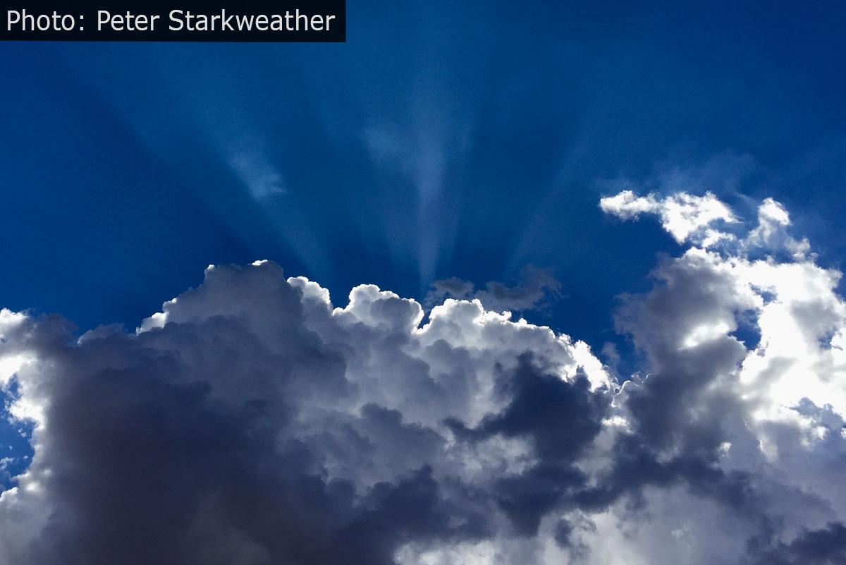 Fan Photo Starkweather Clouds Boulder City, NV