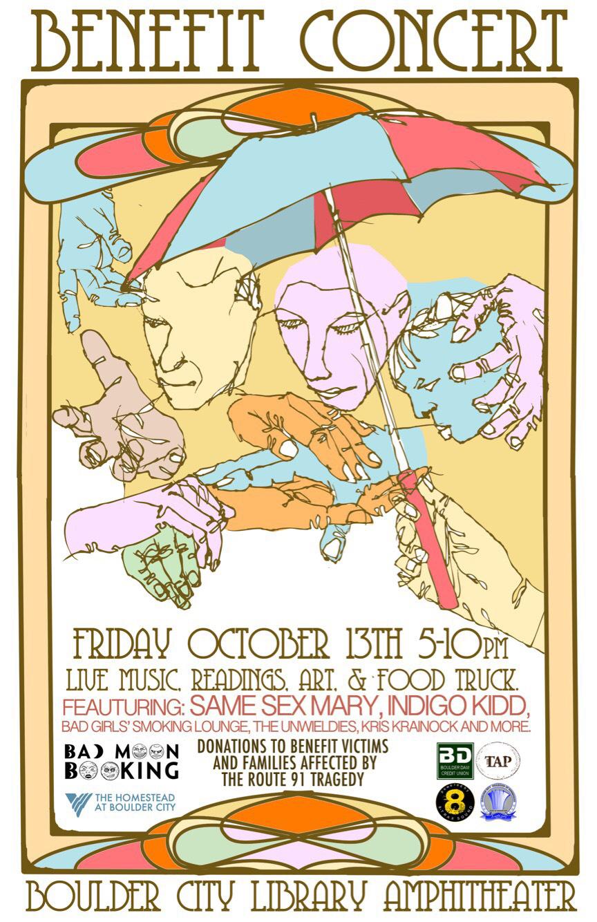 Final Benefit Concert Flyer Boulder City, NV