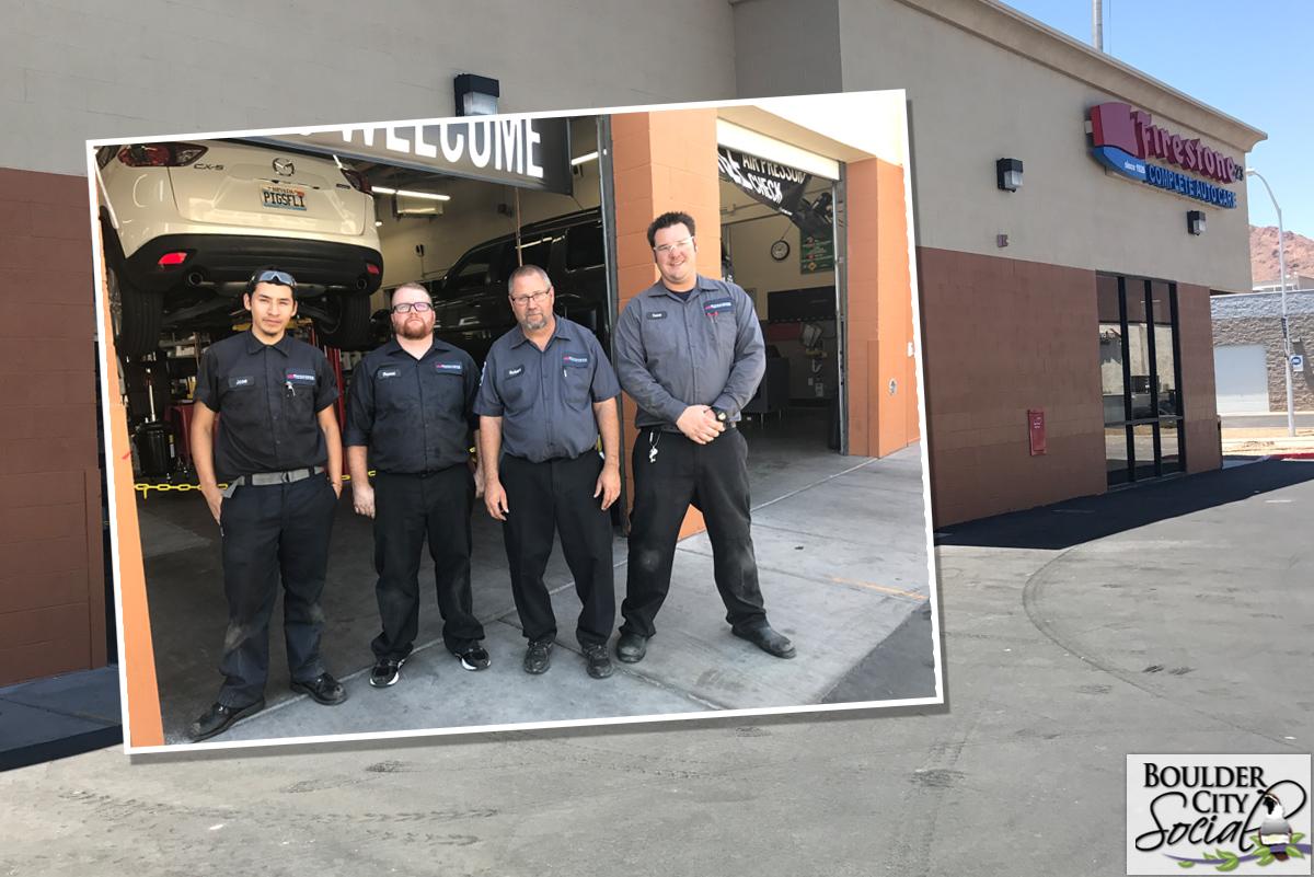 Firestone Tires Now Open Boulder City, Nevada