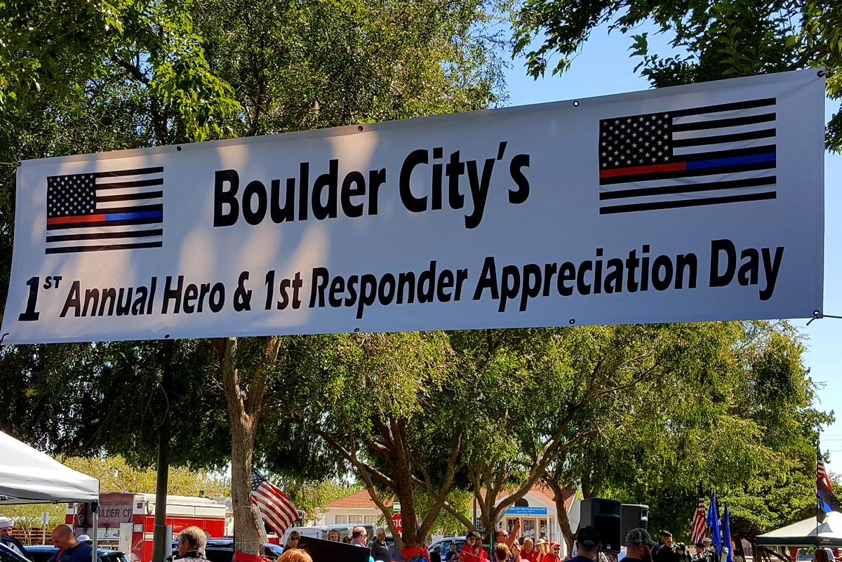 First Responders Event Boulder City, NV
