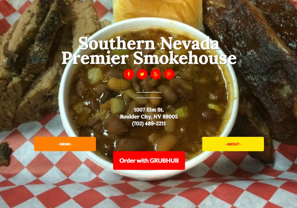 Fox BBQ Grubhub Boulder City, Nevada