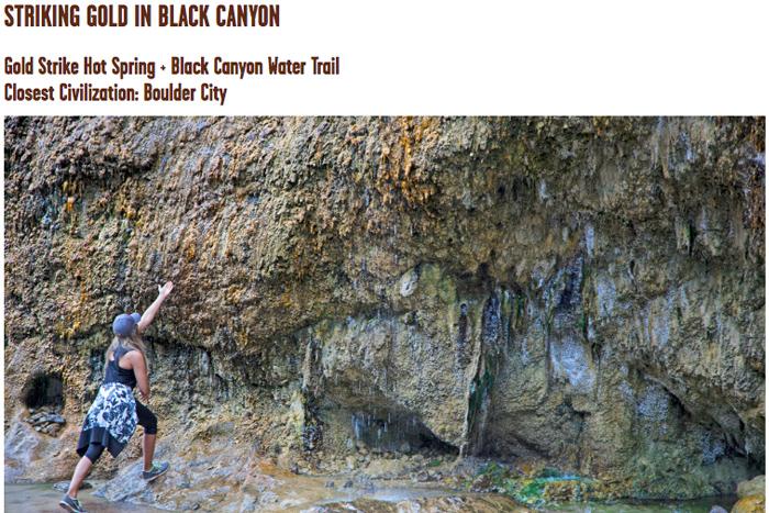 Gold Strike Canyon Article Boulder City, NV