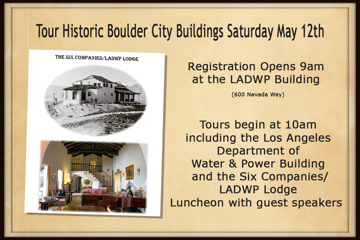 Historic Preservation Society Boulder City, NV