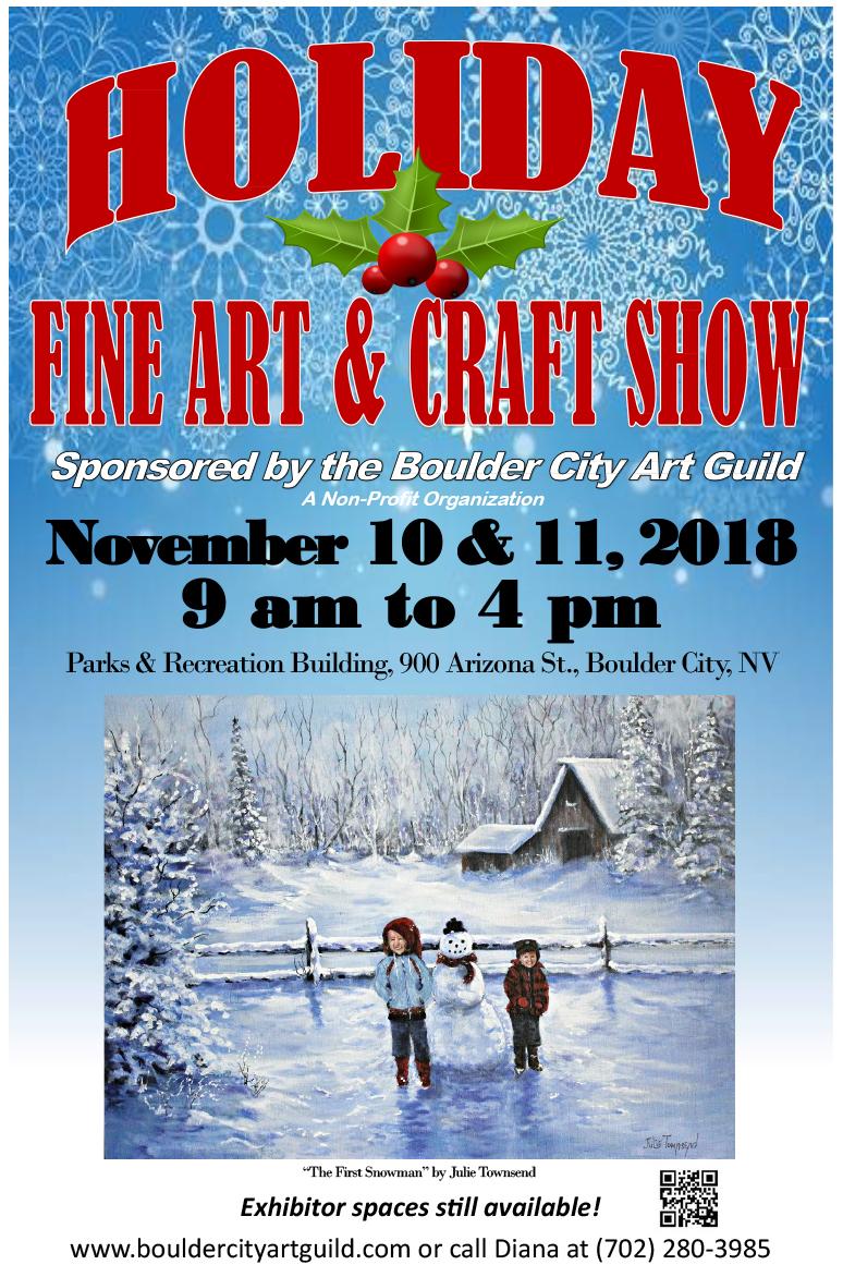 Holiday Craft Show Flyer Boulder City, NV