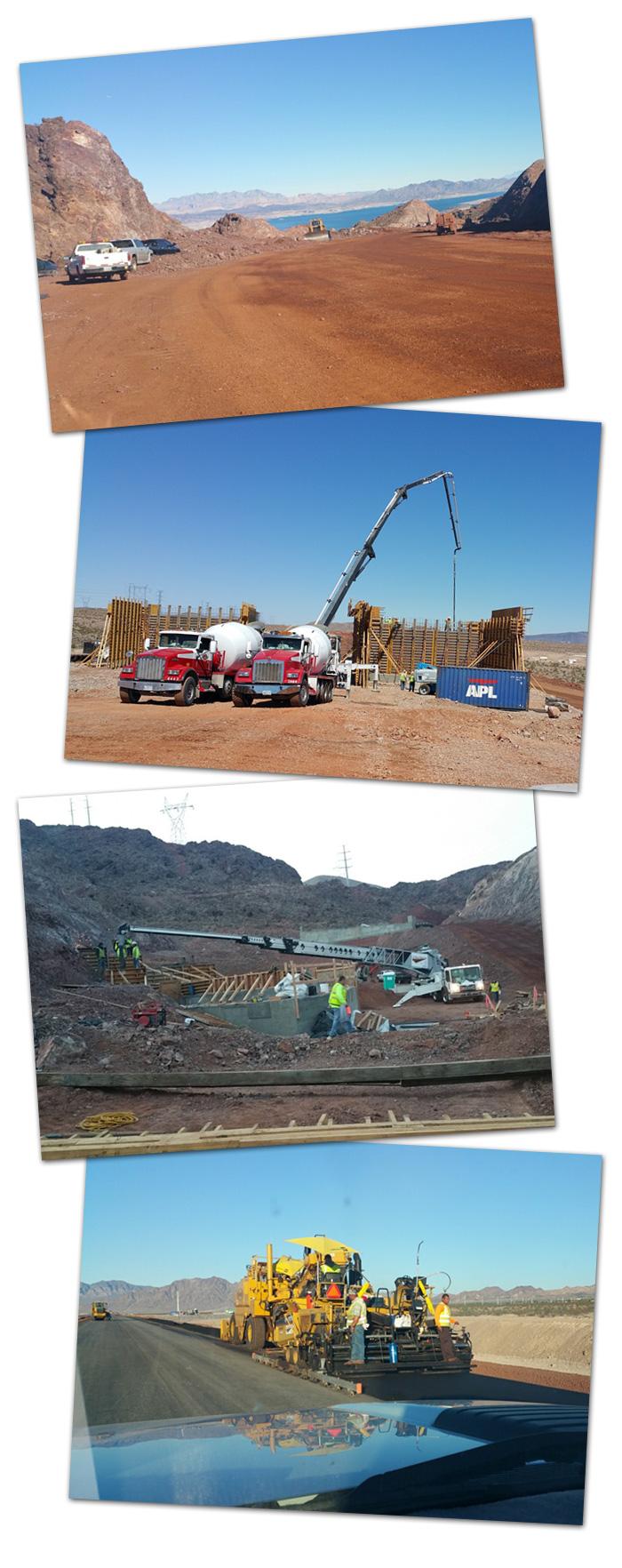 Interstate 11 Construction Near Boulder City, Nevada