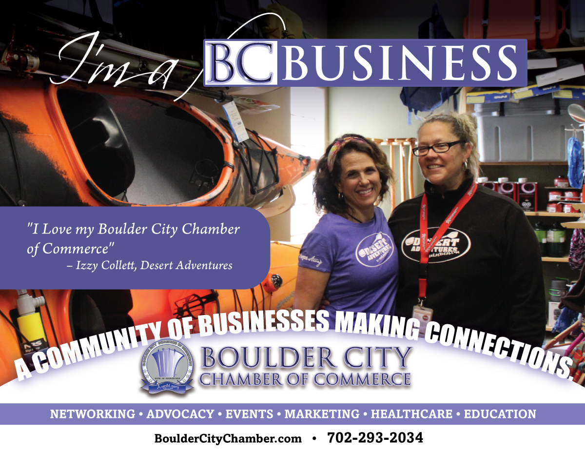 I'm a BC Business Chamber of Commerce Boulder City, NV