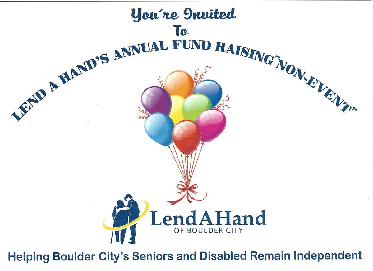 Lend A Hand Funraising Mailer Boulder City, NV