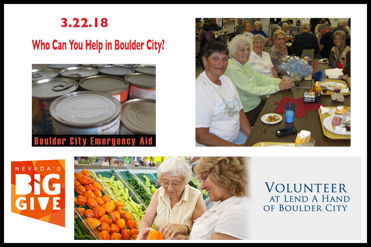 Nevada Big Give Day 2018 Boulder City, NV