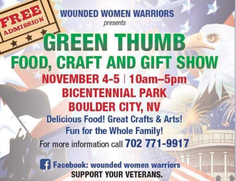New Food & Craft Poster Boulder City, NV