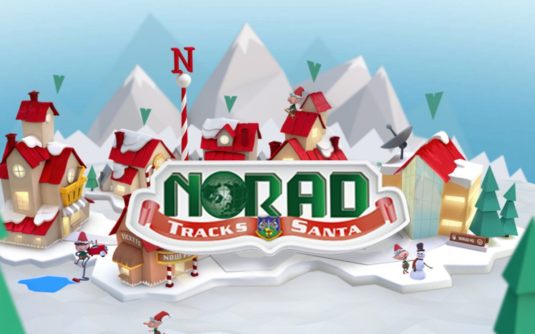 The NORAD Santa Tracker Is Live