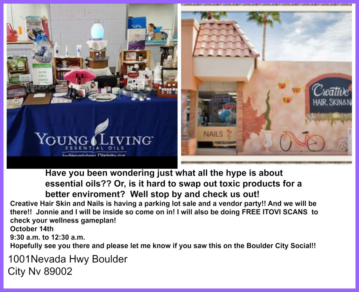 Our october vendor event