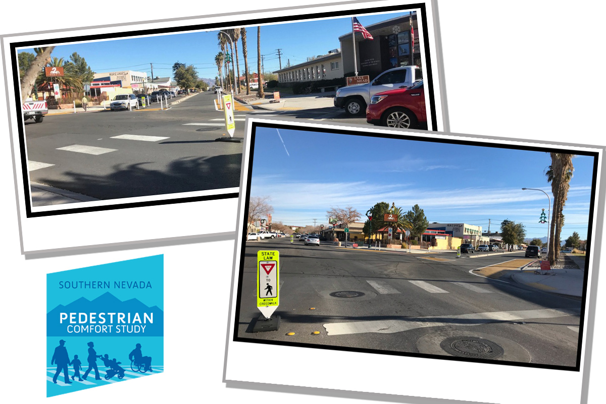 Pedestrian Study Nearly Over Boulder City, NV