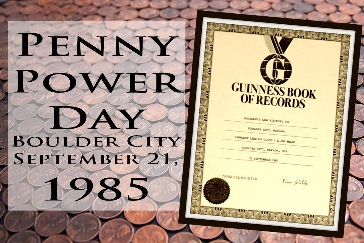 Penny Power Day Boulder City, Nevada