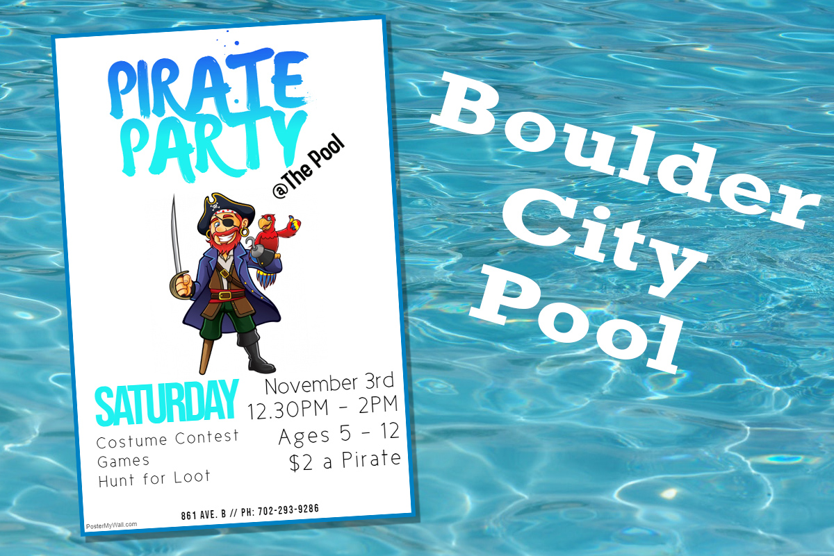 Pool Pirate Party Boulder City, Nevada