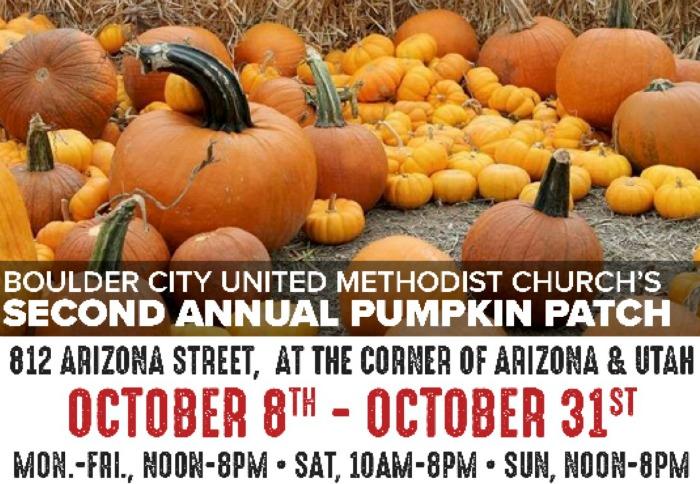 Pumpkin patch poster Boulder City, NV