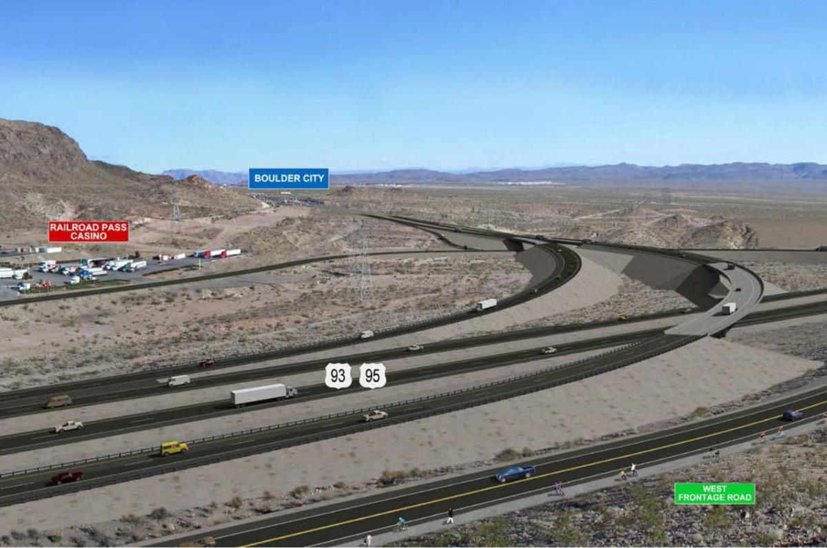 Railroad Pass Interchange Opens Boulder City, NV