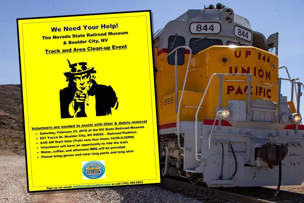 Railway Community Cleanup Boulder City, Nevada
