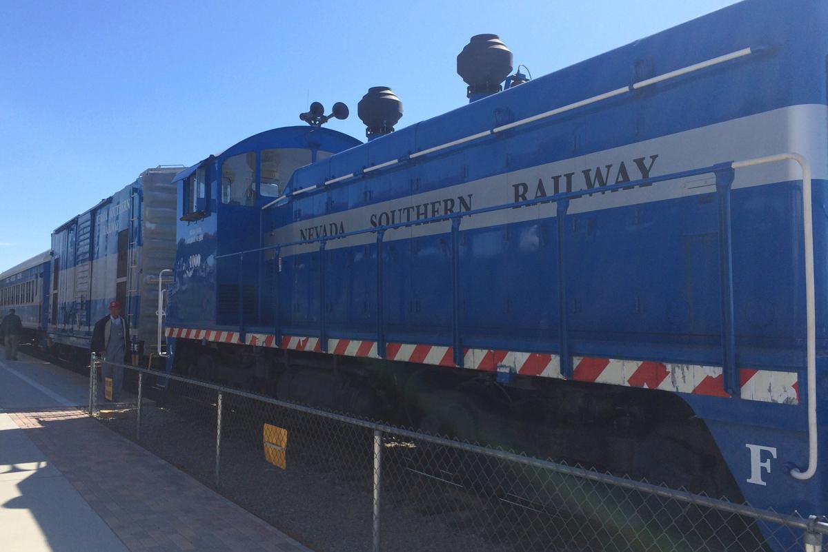 Railway Engine Boulder City, Nevada