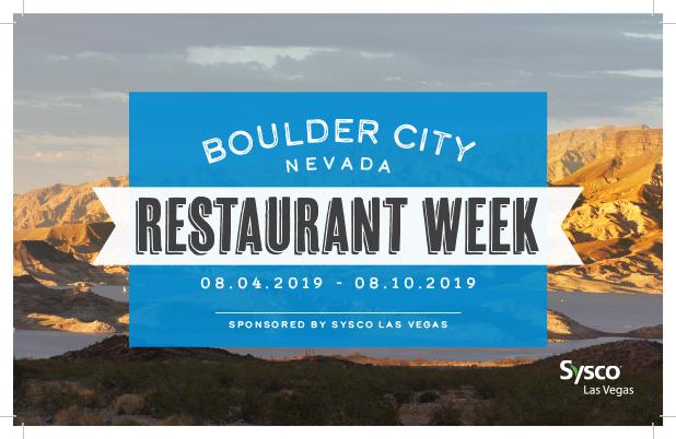 Restaurant Week Boulder City, Nevada