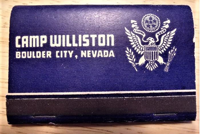 Ron Martin Camp Williston Boulder City, NV