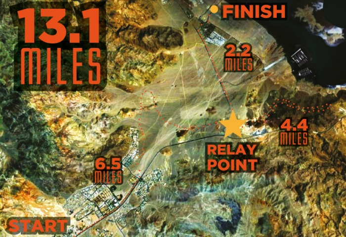 Saints Sinners Half Marathon Boulder City, NV