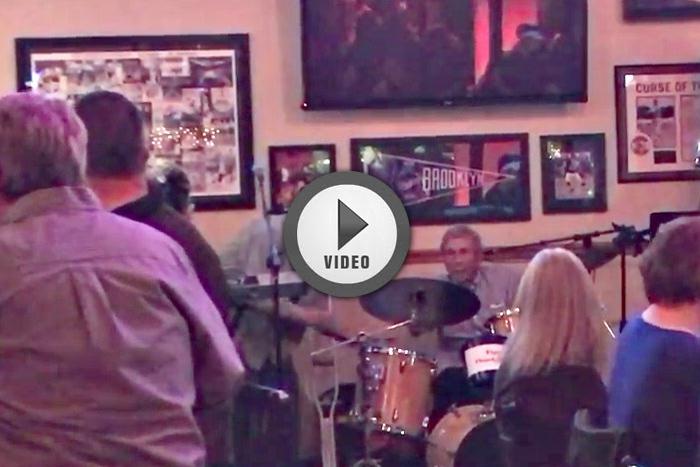 Sandy Nelson KR Drumming at Jack's Place Boulder City, NV